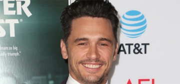 James Franco: 'If I kept myself busy, I never had to look at myself or my life'