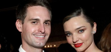Miranda Kerr & Evan Spiegel are expecting their first, six months after the wedding