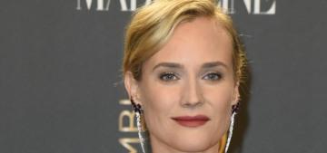 """Diane Kruger's Giambattista Valli dress is odd but not unpleasant"" links"