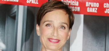 Kristin Scott Thomas: 'Every industry is like Hollywood' in regard to harassment