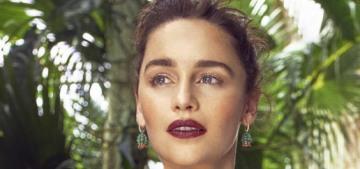 Emilia Clarke: 'I love that part of me—I'm like one-eighth Indian'