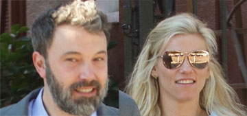 Ben Affleck and Lindsay Shookus spotted out in LA on Saturday