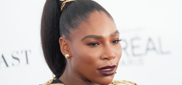 Is it slightly tacky that Serena Williams used her honeymoon to shill for booking.com?