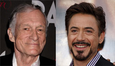 Hugh Hefner wants Robert Downey Jr. to be cast as young Hef in biopic