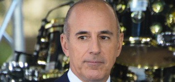 Matt Lauer would lock women in his dressing room & pull down his pants