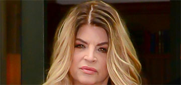 Kirstie Alley is so concerned for accused men: 'people lose their jobs without proof'