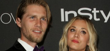 Kaley Cuoco & Karl Cook are engaged, he posted the video on Instagram: tacky?