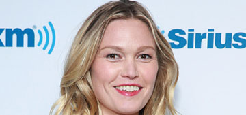 Julia Stiles to mom shamers: instead of writing snarky comments, dance to the Clash