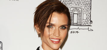 Ruby Rose explains that she has acne on one side of her face from using her phone