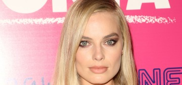Margot Robbie in gold Versace at the 'I, Tonya' premiere: stunning or cheap?