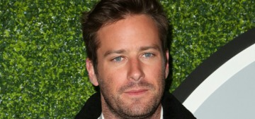 Armie Hammer: 'I don't even take vitamins. It requires a lot of self-importance'