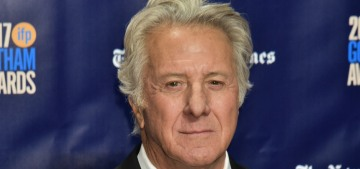 Dustin Hoffman assaulted a young actress on a nightly basis during a Broadway run