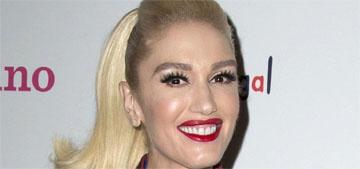 Gwen Stefani's grandmother would make gingerbread villages, each kid got a house