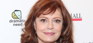 Susan Sarandon unironically thanked black voters for voting for the Democrat