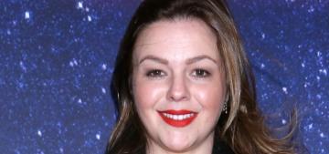 Amber Tamblyn thinks Rose McGowan's Meryl tweets are 'beneath' her