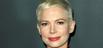 Michelle Williams in red Louis Vuitton at the 'ATMITW' premiere: vibrant & stunning?