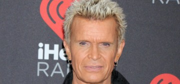 Did Billy Idol kill his cheating girlfriend's kitten in a fit of rage in the 1980s?