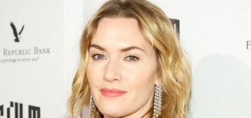 Kate Winslet was oblivious to actresses' death stares during a LAT roundtable