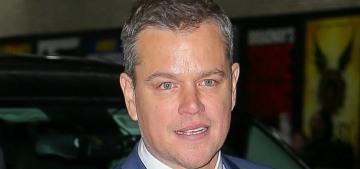 Why did Matt Damon skip the big 'Downsizing' premiere this week?