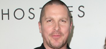 Christian Bale: Our culture will be richer when white dudes stop running everything