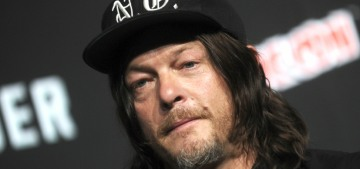Norman Reedus has actually got Christmas-gifting down to a simple process