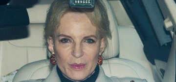 Just FYI: Princess Michael of Kent is a racist, and she wears racist jewelry