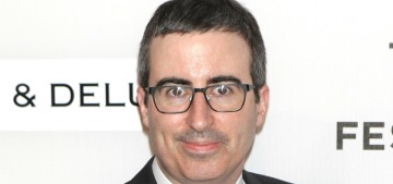 John Oliver 'felt sad' about challenging Dustin Hoffman on his history of harassment