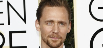 If Tom Hiddleston attends the Golden Globes, he'll be wearing all-black