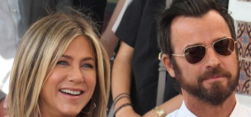 Justin Theroux & Jennifer Aniston are fine, they 'do their own thing a lot of the time'
