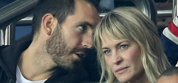 Robin Wright is dating a younger French guy who works for Saint Laurent