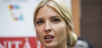 Ivanka Trump wears her own label 68% of the time, and sales are still down