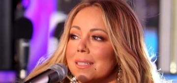 Mariah Carey abandoned the dumpster fire of 2017 by demanding hot tea