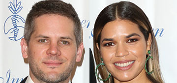 America Ferrera is expecting her first child with her husband, Ryan Piers Williams