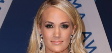Carrie Underwood needed '40 to 50 stitches' to her face after a bad fall in November