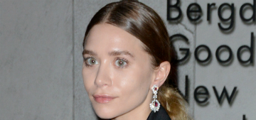 Ashley Olsen is really into Pilates, does a lot of planks