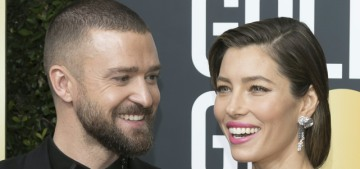 Justin Timberlake was the worst part of Jessica Biel's first Golden Globes nomination