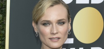 Diane Kruger in Prada at the Golden Globes: stunning or boring?