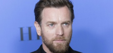 """""""Ewan McGregor thanked his estranged wife & his girlfriend at the Globes"""" links"""
