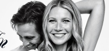 Gwyneth Paltrow & Brad Fulchuk confirm their engagement with a Goop Mag cover