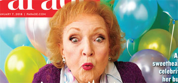 Betty White, 96 next week, 'I love working. I'll keep working until they stop asking'