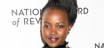 Lupita Nyong'o wore an amazing Balmain to the National Board of Review Awards