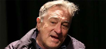 Robert De Niro: 'the jerkoff-in-chief I call him – has put the press under siege' (update: video)
