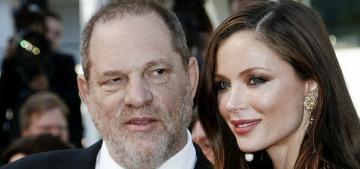Harvey Weinstein & Georgina Chapman finalized their divorce settlement