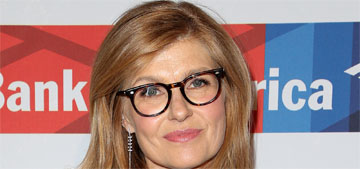 Connie Britton defends $380 Globes sweater: a $5K gown wouldn't be better