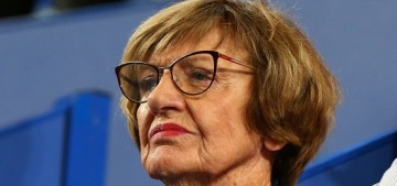 Margaret Court is boycotting the Australian Open because she's a homophobe
