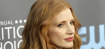 Jessica Chastain in Vionnet at the Critics Choice Awards: stunning or meh?