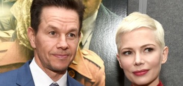 Mark Wahlberg donated $1.5 million to Time's Up in Michelle Williams' name