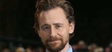 Tom Hiddleston & his scruffy ginger beard are here to make 2018 slightly better