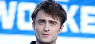 Daniel Radcliffe on Johnny Depp's Beast casting: 'It's a very hard thing for me'