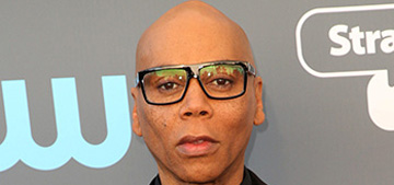 RuPaul, to Oprah: 'I'm black, I'm white, I'm male, female'
